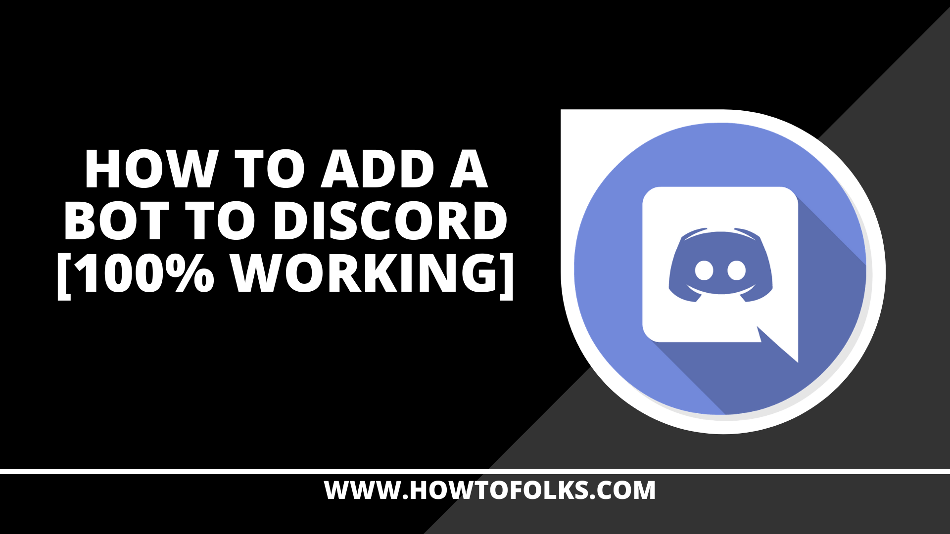 How To Add A Bot To Discord