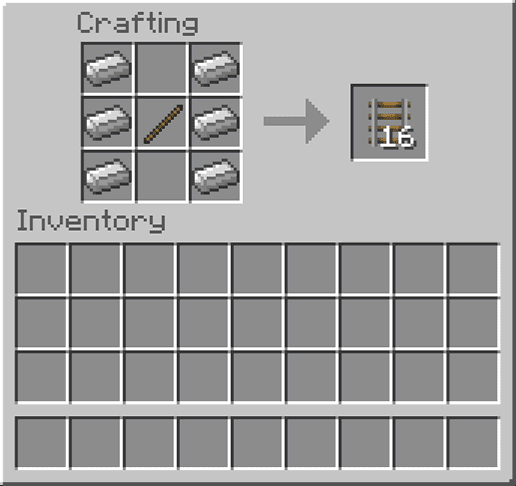 How to make rails in minecraft [100% Working]